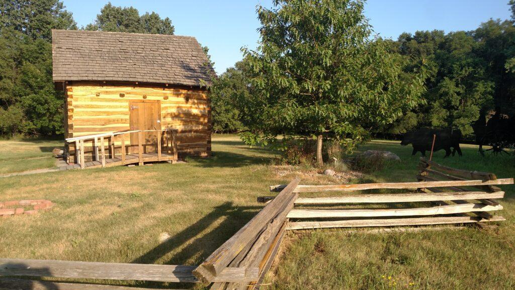 1860s settler cabin