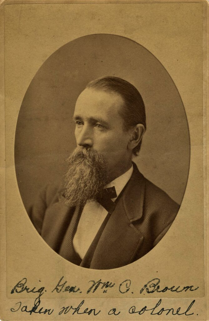 Portrait of Colonel William Carey Brown
