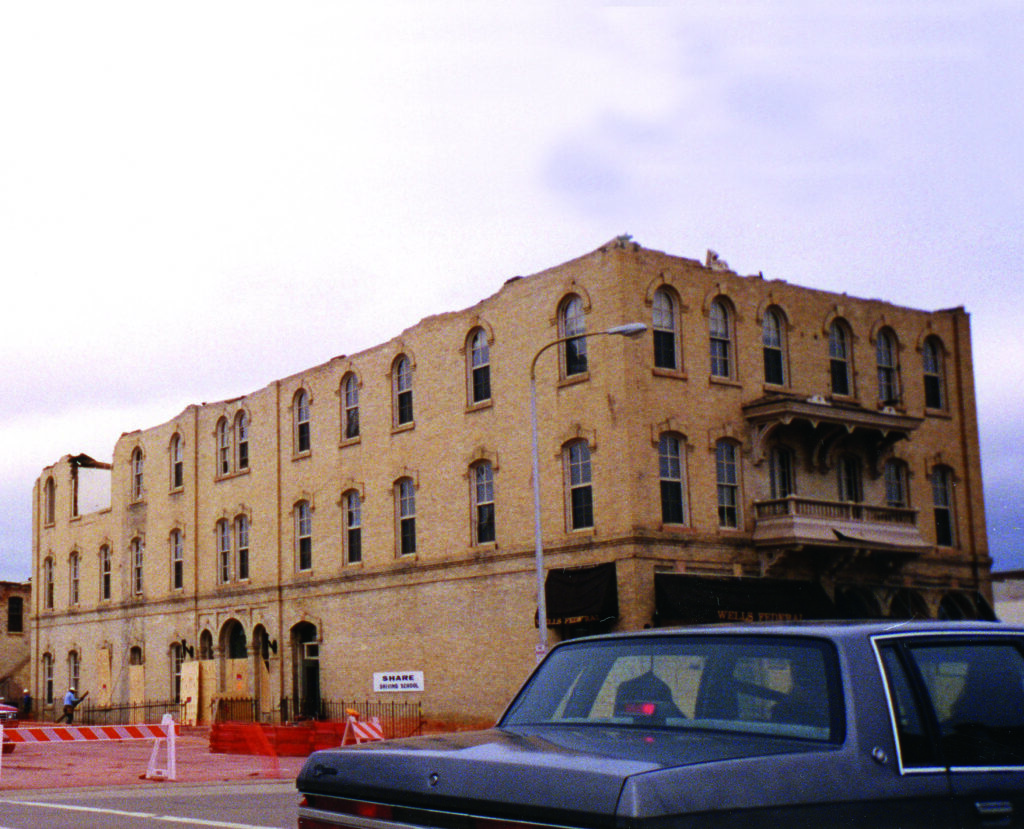 Remains of the Nicollet Hotel