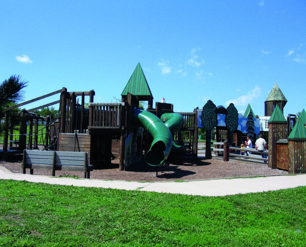 TREEmendous Playground in Gorman Park