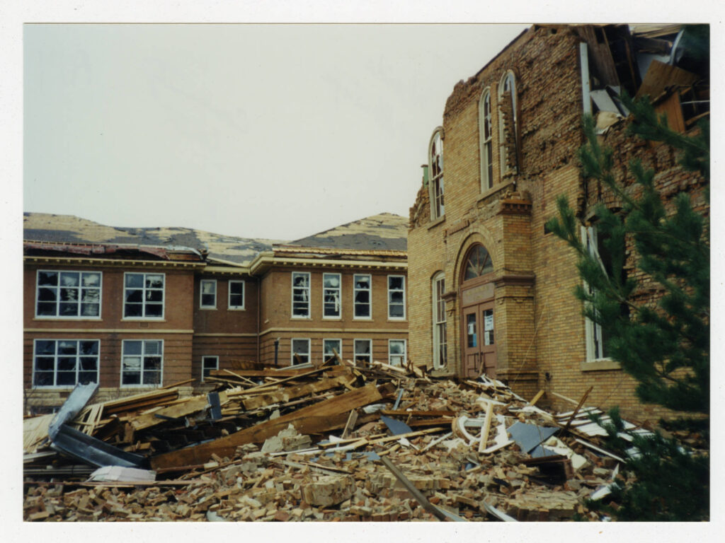 Arts and Heritage Center tornado damage