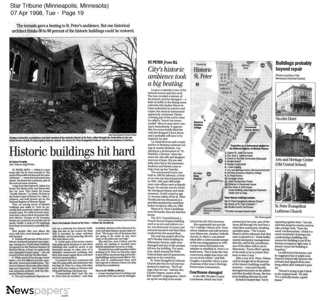 Historic Building Tornado loss